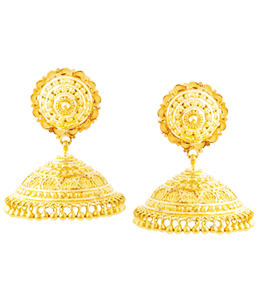 Traditional umbrella jhumki