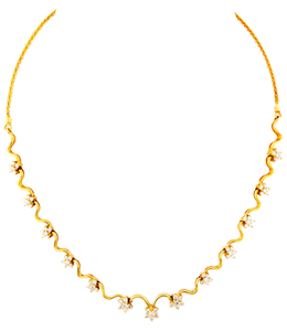 Nakshtra type fancy necklace
