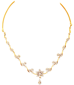 Talikam with flower necklace