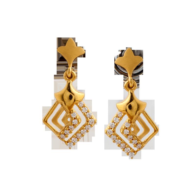 Diamond shaped hangings