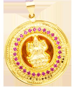 Lakshmi God pendant