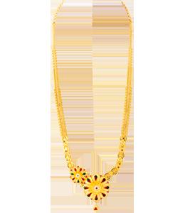 Meenakari Fusion necklace