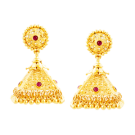 Pyramid shaped jhumki