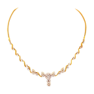 Marquise design necklace