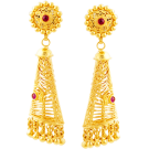 Cone shaped jhumki