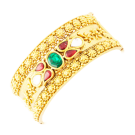 Bengali fancy bangle with stones