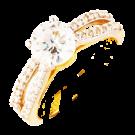 Solitare bridal ring