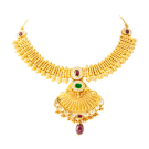 Calcutta design antique necklace