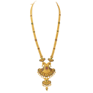 ethinic gold necklace